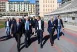 Universiadi, prosegue visita Commissione