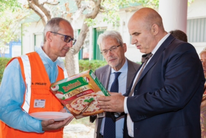 Benevento,hub per export pizza surgelata
